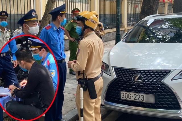 Bất ngờ với trần tình của tài xế xe Lexus thách thức công an ở Hà Nội - 1