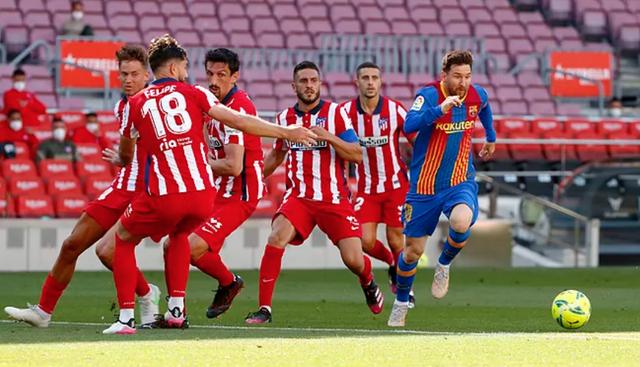 Messi và Suarez tịt ngòi, Barcelona bất phân thắng bại với Atletico - 7