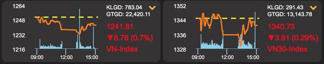 Cổ phiếu Vinamilk lao dốc, nhà đầu tư chết đứng như Từ Hải - 1