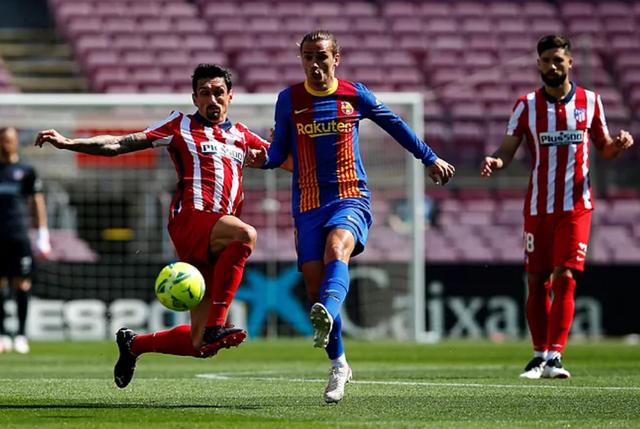 Messi và Suarez tịt ngòi, Barcelona bất phân thắng bại với Atletico - 11