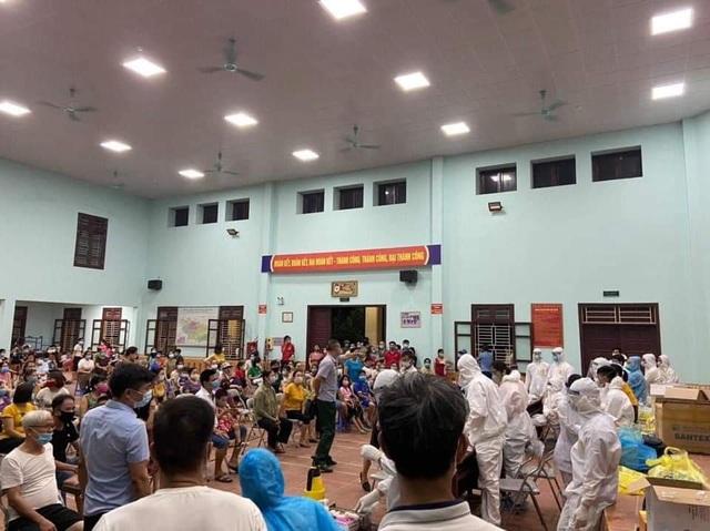 Bắc Ninh: 101 ca dương tính, nhân viên y tế kiệt sức ngủ gục tại chỗ - 6