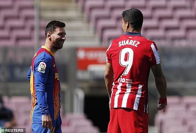 Nỗ lực của Messi không thể giúp Barcelona đánh bại Atletico - 1