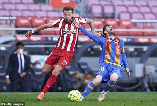 Nỗ lực của Messi không thể giúp Barcelona đánh bại Atletico - 5