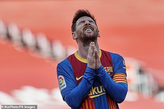 Nỗ lực của Messi không thể giúp Barcelona đánh bại Atletico - 11