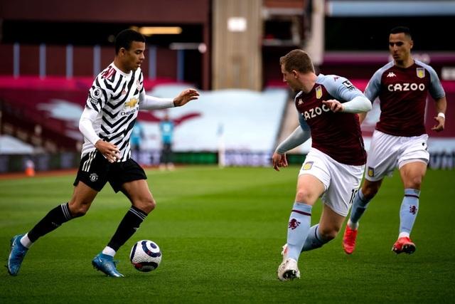 Aston Villa 1-3 Man Utd: 4 phút lật mặt và dấu ấn của Cavani - 12