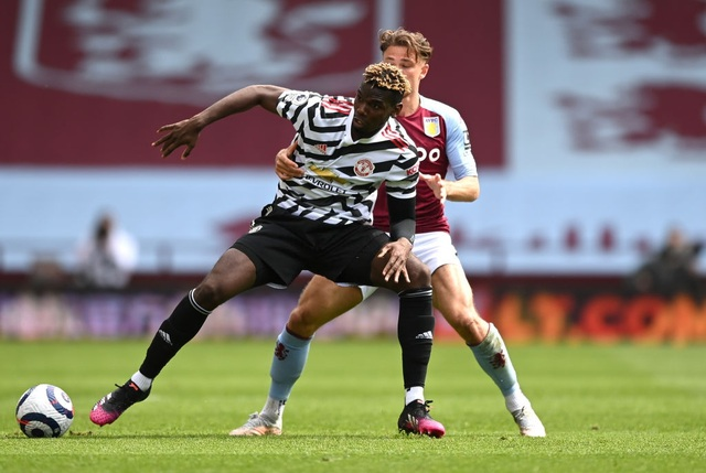 Aston Villa 1-3 Man Utd: 4 phút lật mặt và dấu ấn của Cavani - 10