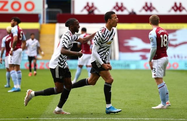 Aston Villa 1-3 Man Utd: 4 phút lật mặt và dấu ấn của Cavani - 7