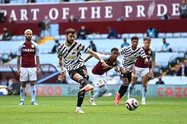 Aston Villa 1-3 Man Utd: 4 phút lật mặt và dấu ấn của Cavani - 8