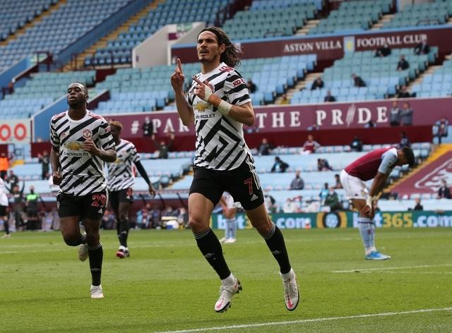 Aston Villa 1-3 Man Utd: 4 phút lật mặt và dấu ấn của Cavani - 4