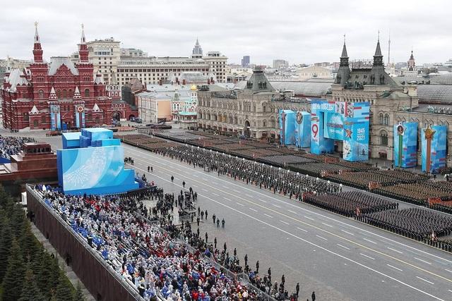 Dàn khí tài khủng của Nga trong lễ duyệt binh - 2