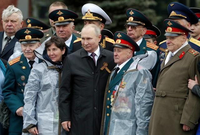 Dàn khí tài khủng của Nga trong lễ duyệt binh - 25