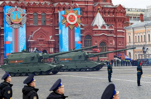 Dàn khí tài khủng của Nga trong lễ duyệt binh - 11
