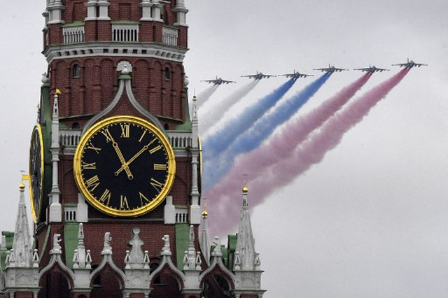 Dàn khí tài khủng của Nga trong lễ duyệt binh - 19