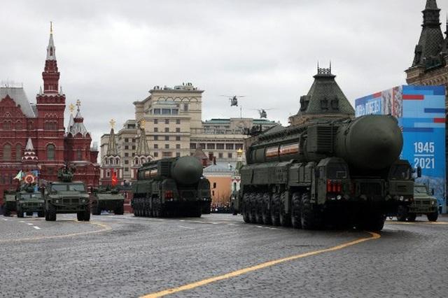 Dàn khí tài khủng của Nga trong lễ duyệt binh - 22