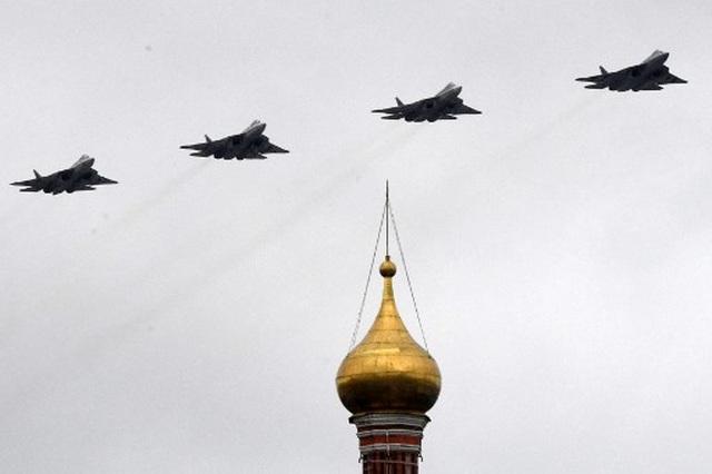 Dàn khí tài khủng của Nga trong lễ duyệt binh - 20