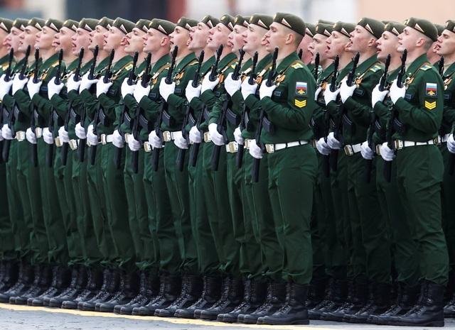 Dàn khí tài khủng của Nga trong lễ duyệt binh - 1