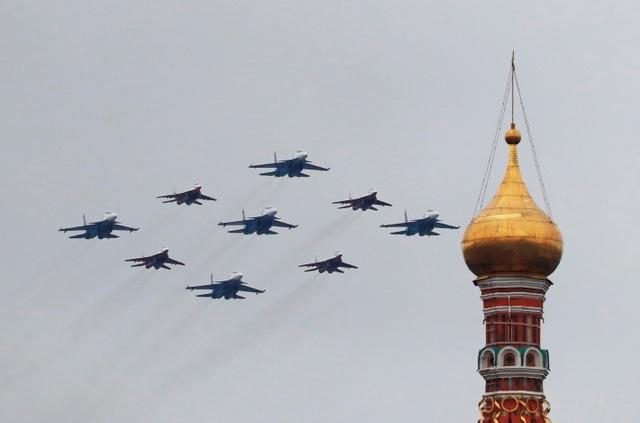 Dàn khí tài khủng của Nga trong lễ duyệt binh - 13