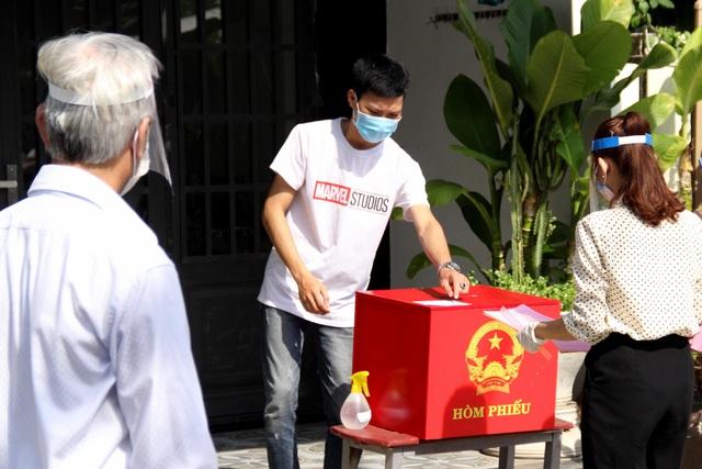Đà Nẵng diễn tập phục vụ bầu cử trong bối cảnh dịch Covid-19 - 6