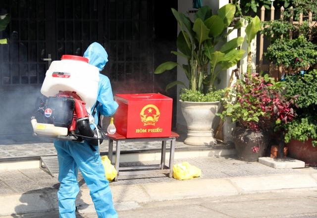 Đà Nẵng diễn tập phục vụ bầu cử trong bối cảnh dịch Covid-19 - 7