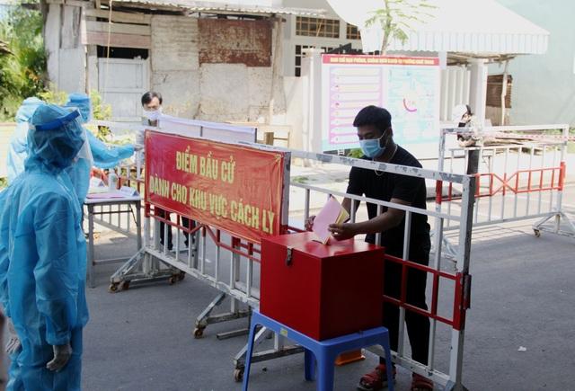 Đà Nẵng diễn tập phục vụ bầu cử trong bối cảnh dịch Covid-19 - 8