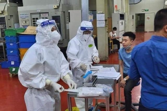 Bắc Giang: Công nhân Công ty TNHH Shin young Việt Nam dồn dập dương tính - 1