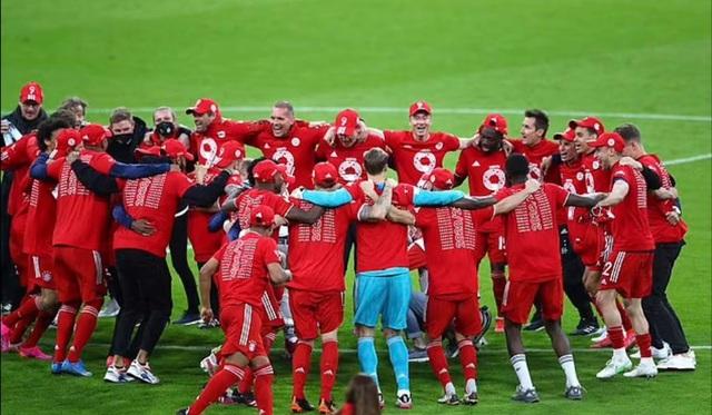 Lewandowski lập hat-trick, Bayern vô địch Bundesliga lần thứ 9 liên tiếp - 4