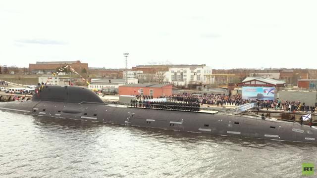 Nga biên chế siêu tàu ngầm hạt nhân quái vật đại dương - 1