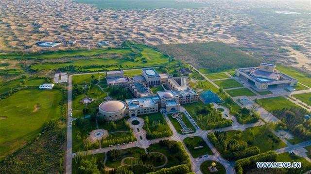 Hành trình 3 thập kỷ phủ xanh kỳ diệu sa mạc rộng thứ 7 Trung Quốc - 10