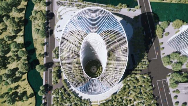 Tòa tháp hình vòng cung của Oppo có gì đặc biệt? - 6