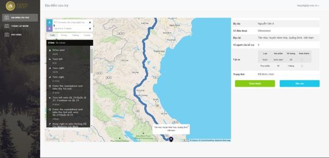 SV FPT làm web hỗ trợ cứu nạn người dân vùng lũ - 3
