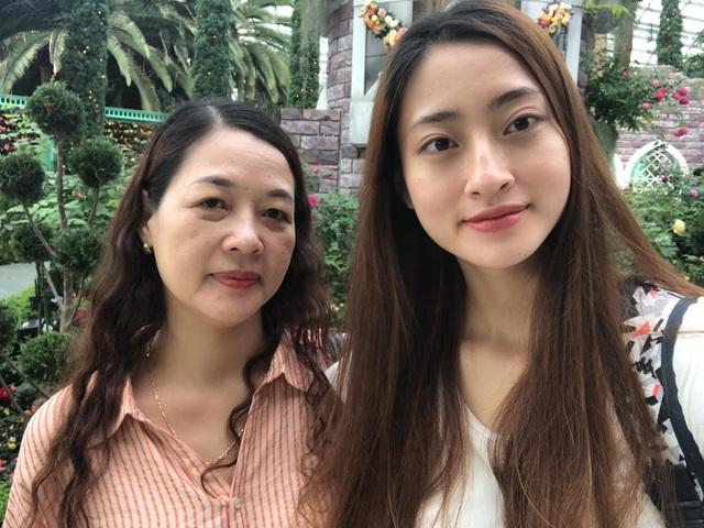 Lương Thùy Linh khoe nhan sắc của mẹ thời trẻ đẹp như Hoa hậu - 2