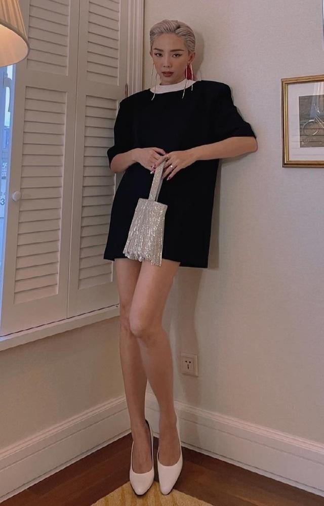Khánh Vân khoe bụng phẳng chân dài với váy xẻ cực gắt tại Mỹ - 7