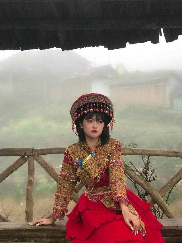 Hot girl ảnh thẻ dân tộc Giáy ngày càng xinh đẹp sau một năm nổi tiếng - 6