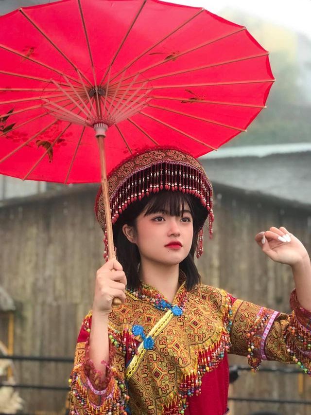 Hot girl ảnh thẻ dân tộc Giáy ngày càng xinh đẹp sau một năm nổi tiếng - 7
