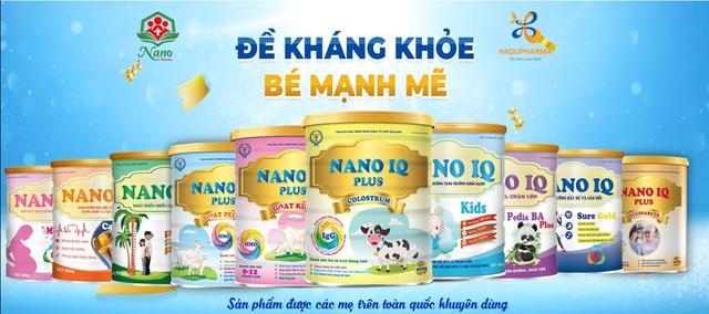 Nano Pharma chinh phục khách hàng bằng sản phẩm sữa bột chất lượng - 1