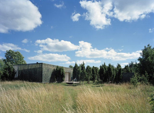 Nhà tàng hình giữa rừng cây với hiệu ứng nhân đôi mặt tiền - 1