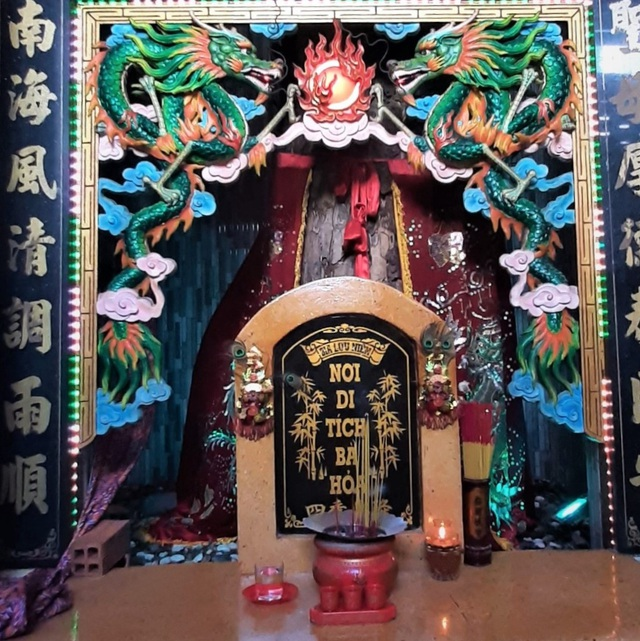 Unique temple to worship Ms. Hoa in the heart of Soc Trang city - 4