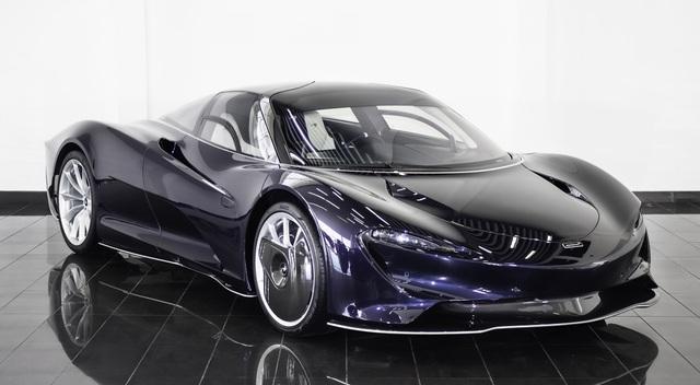 Siêu xe McLaren Speedtail mới đi 1km được rao bán gần 3,5 triệu USD  - 3