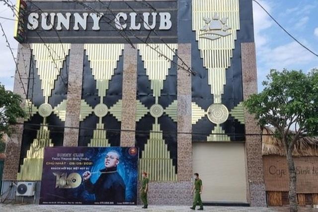 Vĩnh Phúc: Khởi tố 2 vụ án liên quan đến bar Sunny - 1