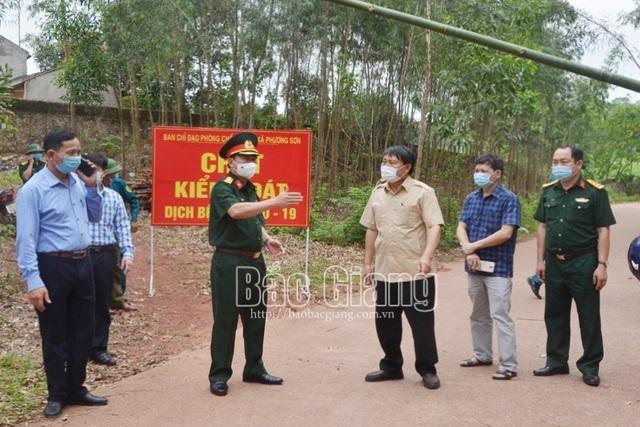 Chiều nay Bắc Giang giãn cách xã hội toàn bộ 3 huyện - 1