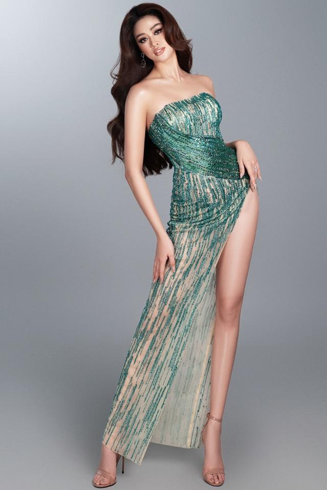 Khánh Vân tiết lộ trang phục dạ hội cho các đêm thi quan trọng - 4
