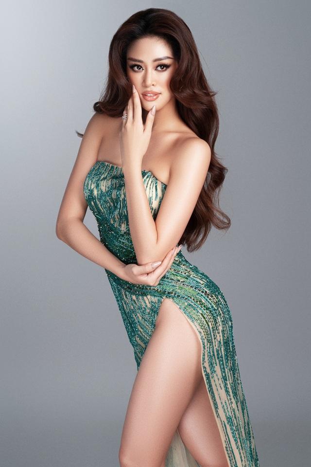 Khánh Vân tiết lộ trang phục dạ hội cho các đêm thi quan trọng - 3