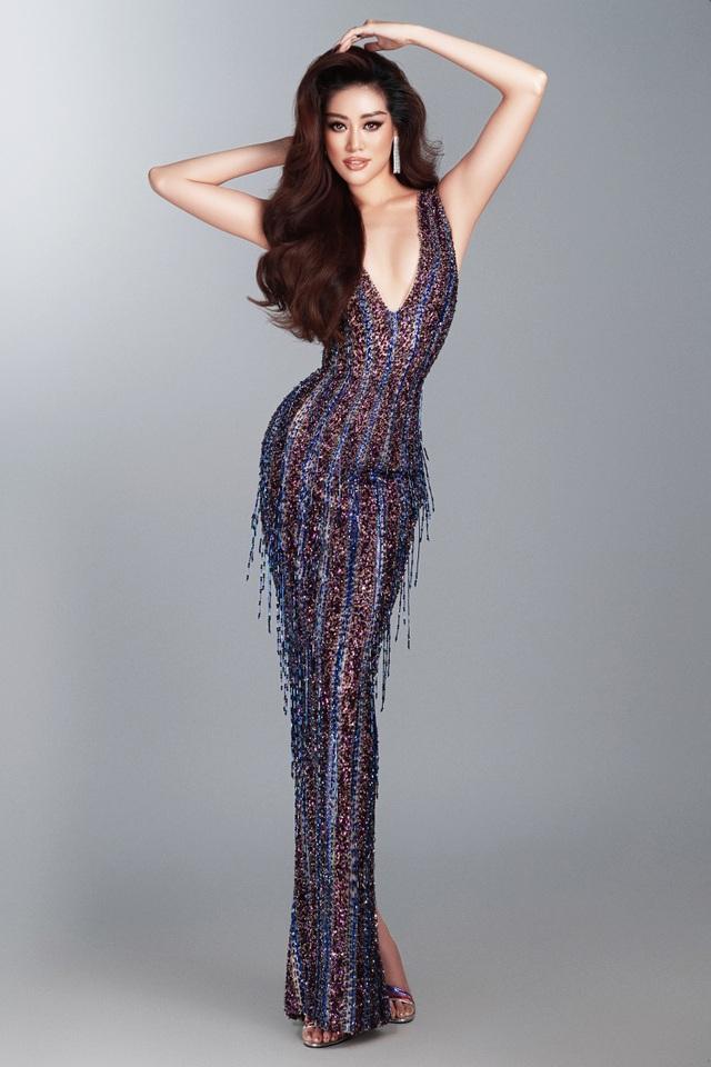 Khánh Vân tiết lộ trang phục dạ hội cho các đêm thi quan trọng - 6