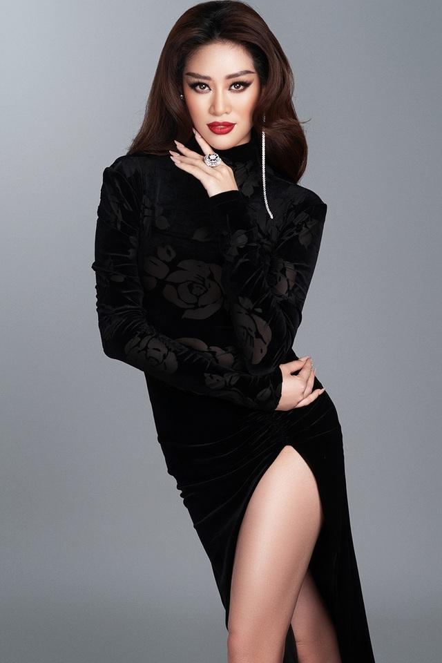 Khánh Vân tiết lộ trang phục dạ hội cho các đêm thi quan trọng - 7