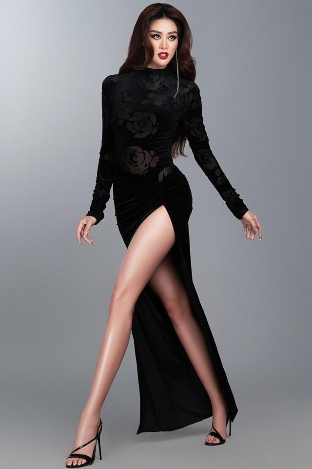 Khánh Vân tiết lộ trang phục dạ hội cho các đêm thi quan trọng - 8