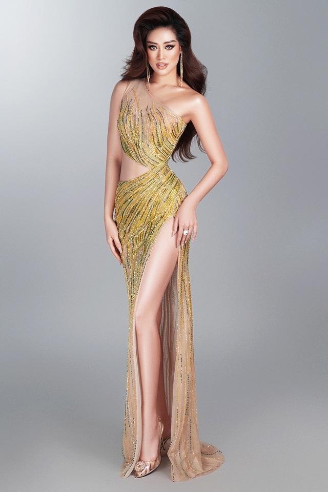 Khánh Vân tiết lộ trang phục dạ hội cho các đêm thi quan trọng - 2
