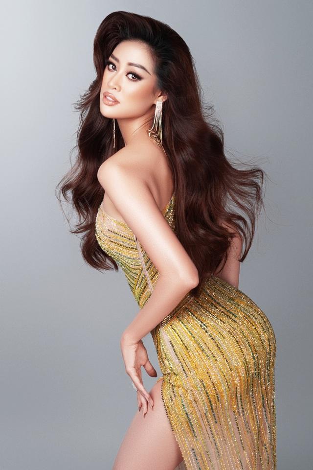 Khánh Vân tiết lộ trang phục dạ hội cho các đêm thi quan trọng - 1