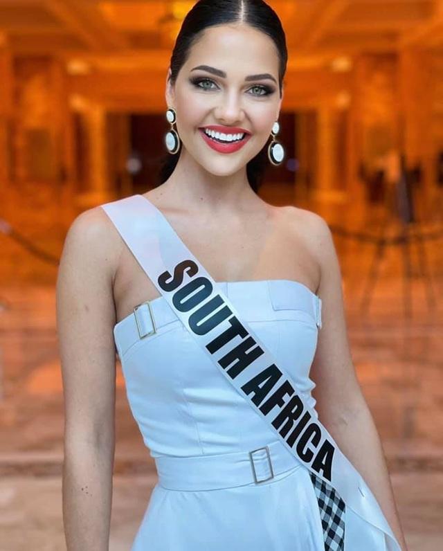Gương mặt thiên thần và thân hình nóng bỏng của Hoa hậu Hoàn vũ Nam Phi - 26