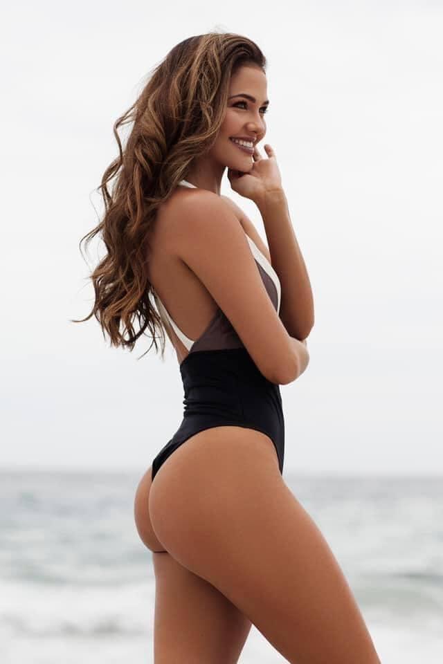 Gương mặt thiên thần và thân hình nóng bỏng của Hoa hậu Hoàn vũ Nam Phi - 27