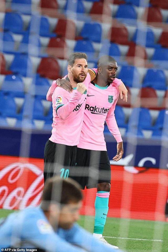 Messi ghi bàn, Barcelona vẫn hòa thất vọng và cơ hội vô địch mong manh - 4